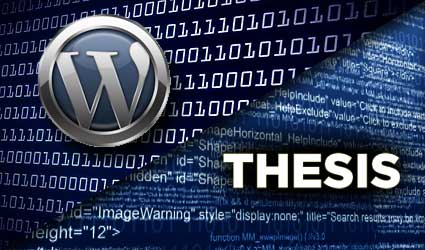 WordPress-Thesis Image
