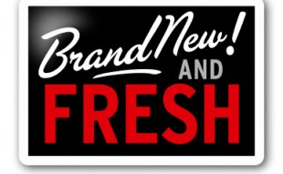 "Image of ""Brand New and Fresh"" sign"