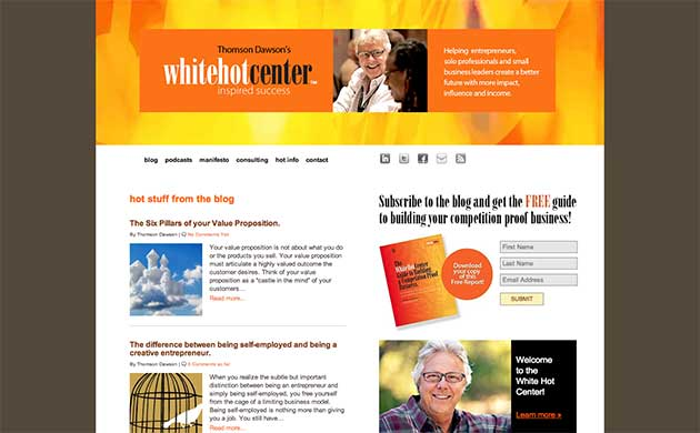 White Hot Center